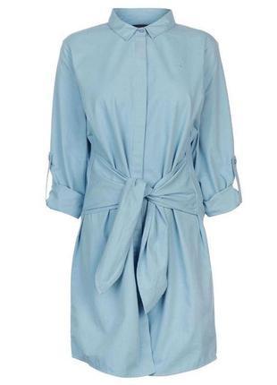 Платье джинс с шикарным поясом,англия kangol!