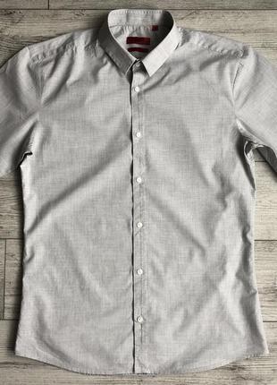 Сорочка\рубашка hugo boss slim fit casual shirt
