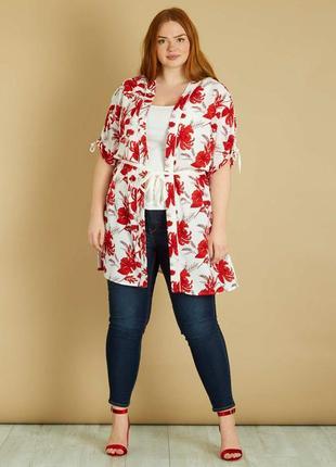 Женское кимоно накидка французского бренда kiabi, eur 42/44, eur 50/52