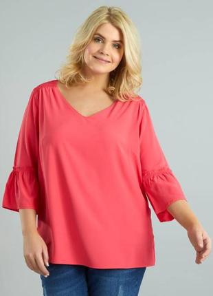 Женская блуза французского бренда kiabi, eur 46, сток европа оригинал
