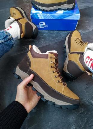 Шикарные мужские зимние ботинки   на меху