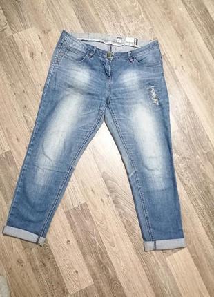 Актуальные джинсы boyfriend 28р