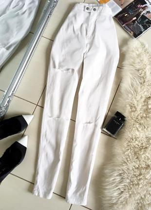Классные базовые джинсы скинни джеггинсы momokram