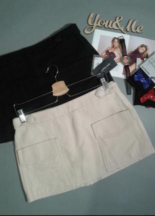 🌹подарок 👍 короткая котоновая юбка, италия