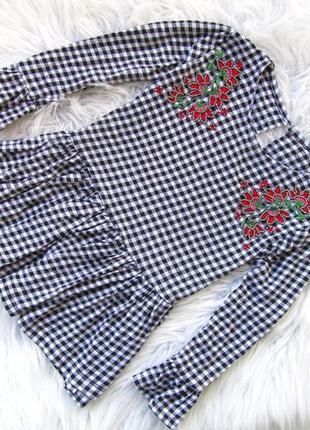 Качественная и стильная блузка рубашка кофта dunnes