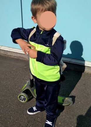 Качественный детский спортивный костюм domyos