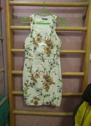 Платье в цветочек от dilvin