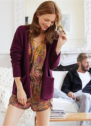 Мягкий вязаный женский кардиган французского бренда kiabi, м, сток европа оригинал