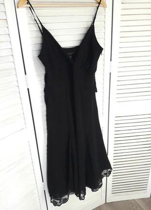 Шелковое платье /сарафан
