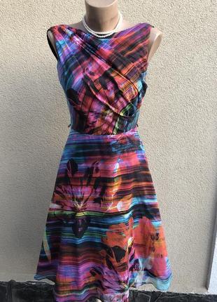 Легкое,романтическое платье,сарафан,хлопок,на запах по груди,