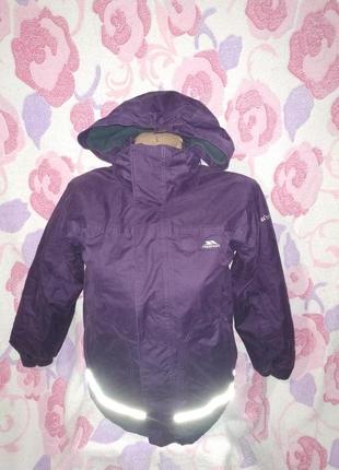 Термо куртка trespass. 7-8 лет