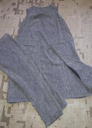 Костюм. сарафан с брюками.