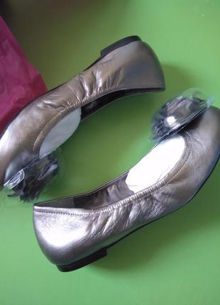 Кожаные балетки от vince camuto