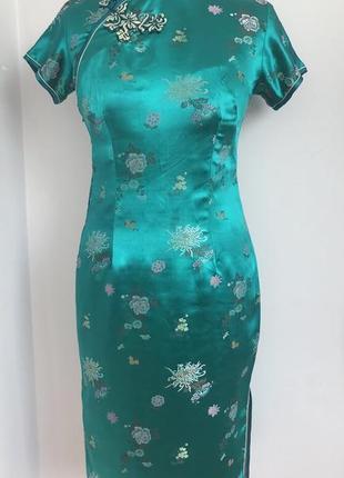 Китай китаянка японка ципао платье 44-46 карнавальное