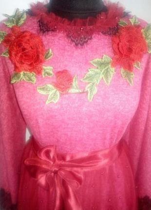 Трикотажне нарядне плаття.