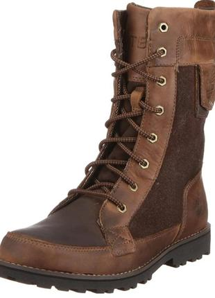 Кожаные демисезонные ботинки сапоги timberland р 37