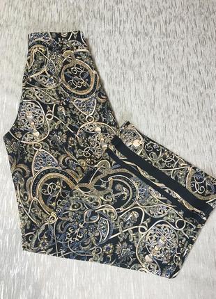 Мега крутые 🔥🔥 брюки палаццо кюлоты цветные h&m