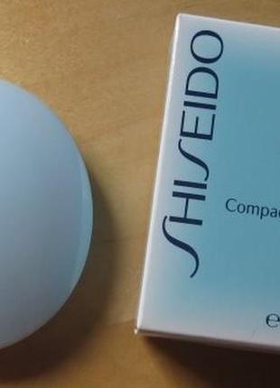Shiseido матирующая компактная пудра без содержания масел pureness spf 15