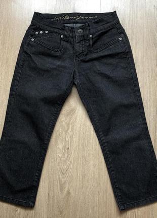 Джинсовые штаны-капри inwear (дания) размер m в идеале