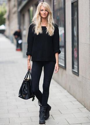 Черные джинсы скинни betty barclay