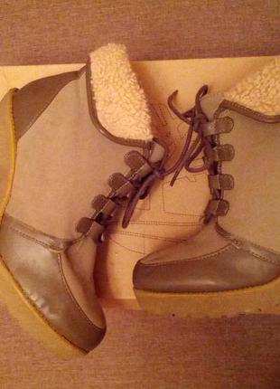 Демисезонные ботиночки от h&m р 38-24см