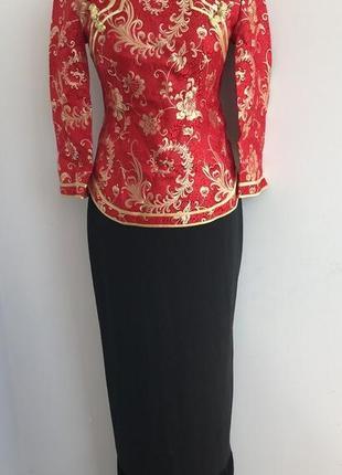 Китаянка китайский традиционный костюм 40-42 японка