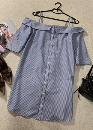 Стильное платье рубашка,размер xxl