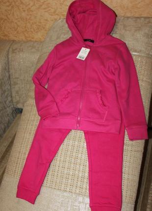 Новый спортивный костюм девочке 4-5 лет от george, англия