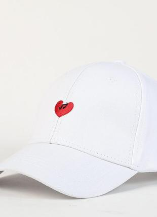 Бейсболка heart модная кепка 13204