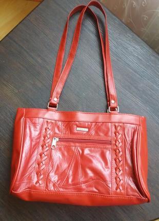 Кожаная сумка  stefano