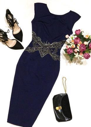 Красиве плаття міді по фігурі little mistress