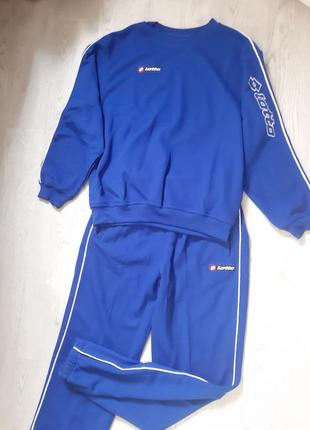 Оригинальный брендовый спортивный костюм футбольная форма для подростка школьника lotto
