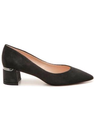 Замшевые туфли мюли essex lane