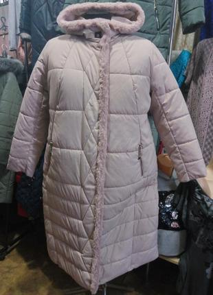 Красивое зимнее пальто