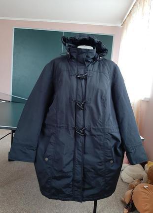 Утепленная куртка парка 54-56р