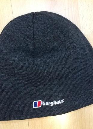 Вязанная двухсторонняя шапка berghaus оригинал