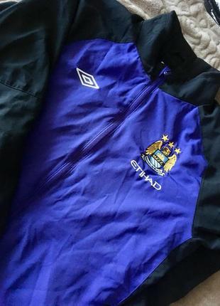 Кофта umbro man city training woven jacket