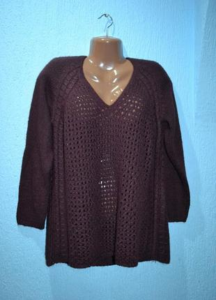Шерстяна кофта,свитер,пуловер