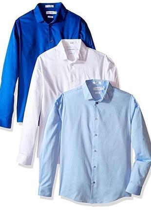 Рубашка calvin klein 3 pack на 12 лет