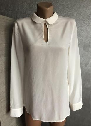 Блуза рубашка шёлк