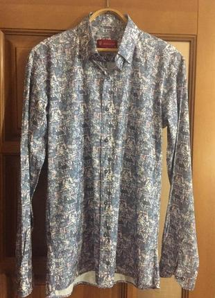 """Классная мужская рубашка """"megaldi""""."""