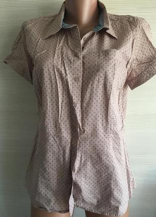 Рубашка с коротким рукавом s.oliver