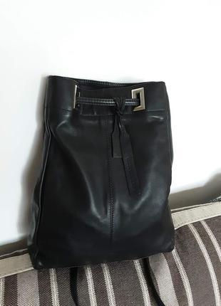 Кожаный рюкзак next