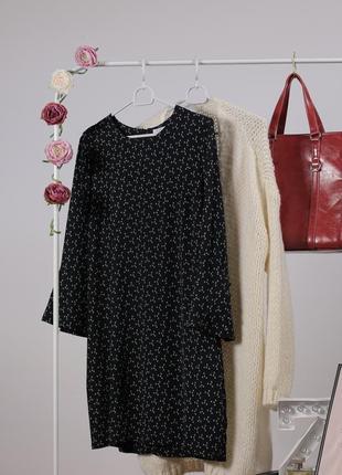 Плаття туніка в дрібні якірці від &other stories - шалена ціна актуальна лише до понеділка