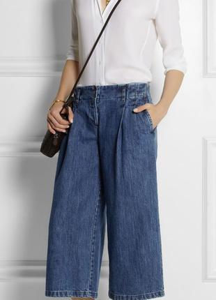 Кюлоты джинсовые л