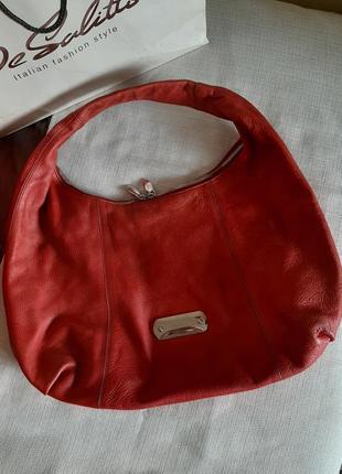 Брендовая кожаная сумка furla