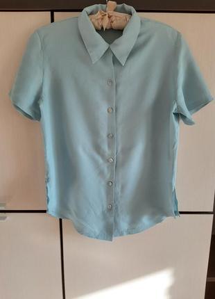 Шелковая рубашка блуза tie rack