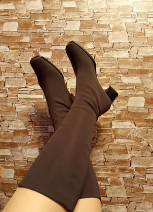 Италия,шикарные,модные,ботинки,сапог чулок,трубы,сапожки,сапоги.