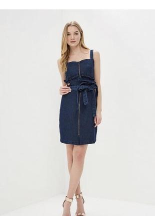 Сарафан платье джинсовое lost ink