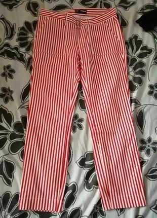 Шикарные укороченные брюки